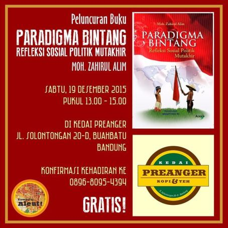 Poster Peluncuran Buku
